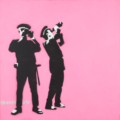 Banksy (British, born 1975) 'Avon and Somerset Constabulary', 2000