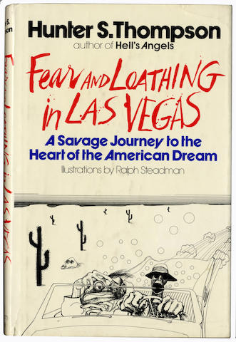 THOMPSON (HUNTER S.) Fear and Loathing in Las Vegas. A Savage Journey to the Heart of the American Dream, FIRST EDITION