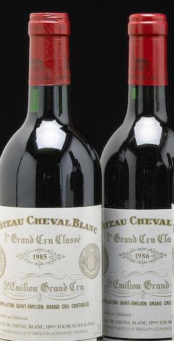 Chateau Cheval Blanc 1986, St. Emilion (2) Chateau Cheval Blanc 1985, St. Emilion (4)