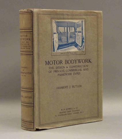 Herbert J. Butler: Motor Bodywork;
