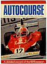MOTORING Autocourse. The Review of International Motorsport, 1966-1970; 1975-1999, together 28 vol.