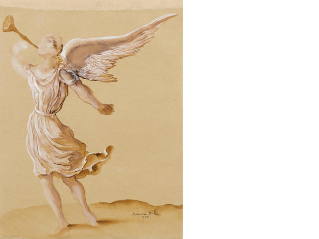 Salvador Dali (Spanish, 1904-1989) 'Angel'