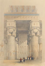 David Roberts, RA (British, 1796-1864) A set of lithographs from the Egypt and Nubia series:  7 full folio, approx. 33 x 51cm. (13 x 20in). each; 5 half-folio, approx. 25 x 33cm. (10 x 13in). each unframed