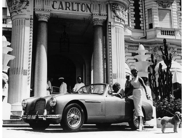 The ex-Works Demonstrator and Angela Brown class-winning,1953 Aston Martin DB2/4 Drophead Coupé  Chassis no. LML 558 Engine no. DP101/39