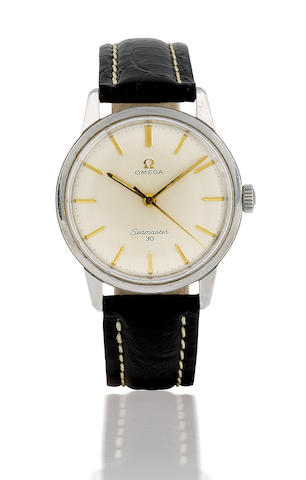 Omega. A vintage wristwatch with centre second Seamaster 30, Circa 1950's