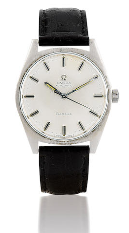 Omega. A steel automatic wristwatchGeneva, Circa 1970's