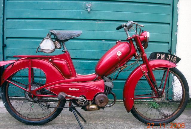 1962 Phillips Panda MkIII Moped