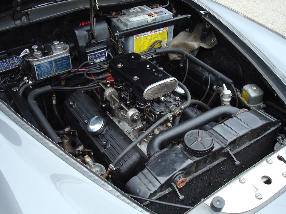 The ex-1954 Mille Miglia and Targa Florio,1953 Lancia Aurelia B20GT Coupé  Chassis no. 2358 Engine no. B20 2616
