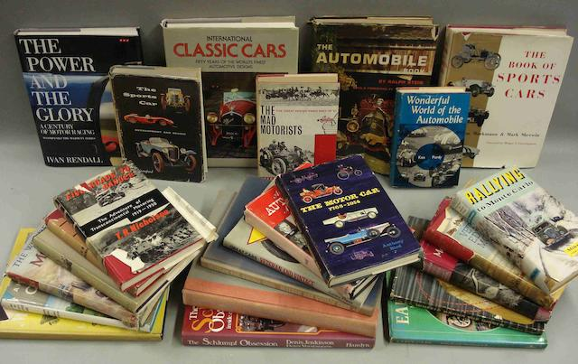 A good lot of general motoring literature,