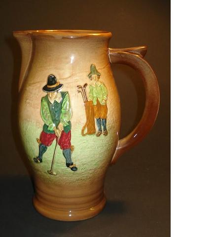 A Royal Doulton Series Ware pitcher