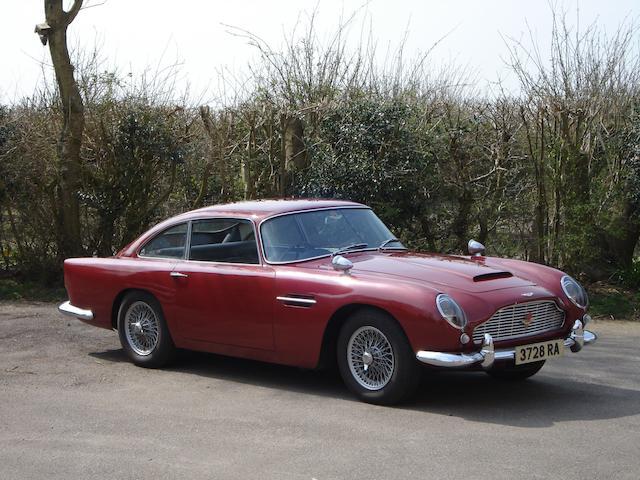 1963 Aston Martin DB4 Series V Vantage Saloon  Chassis no. DB4/1141/R Engine no. 370/1123/SS