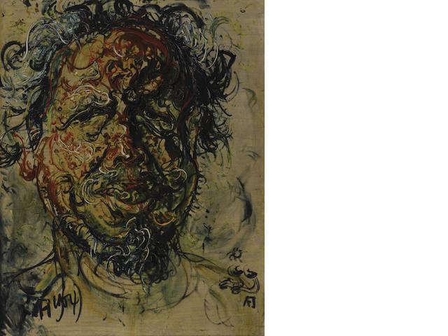 Affandi (Indonesian, 1907-1990) Self Portrait