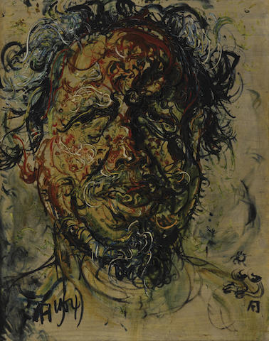 Affandi (Indonesian, 1907-1990) Self Portrait