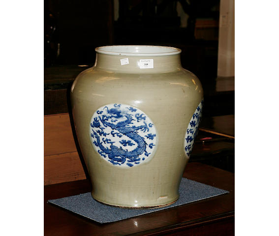 A 19th Century Chinese floor vase Qing Dynasty