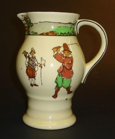 A Royal Doulton Series Ware milk jug