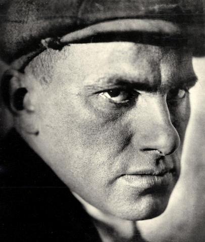 SHTERENBERG (ABRAM)  Vladimir Mayakovsky, 1919