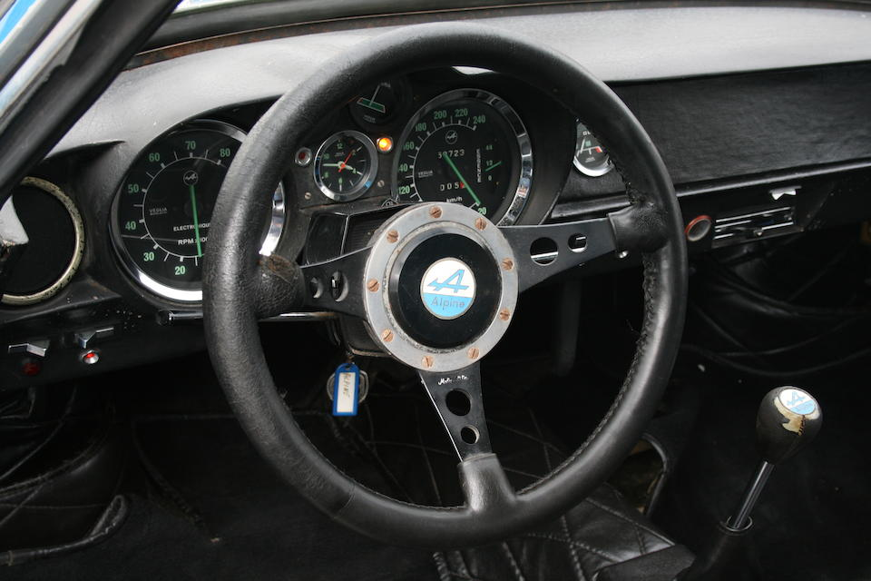 Single family ownership from new,1972 Alpine A110 1600S Coupé  Chassis no. 1600S 17154
