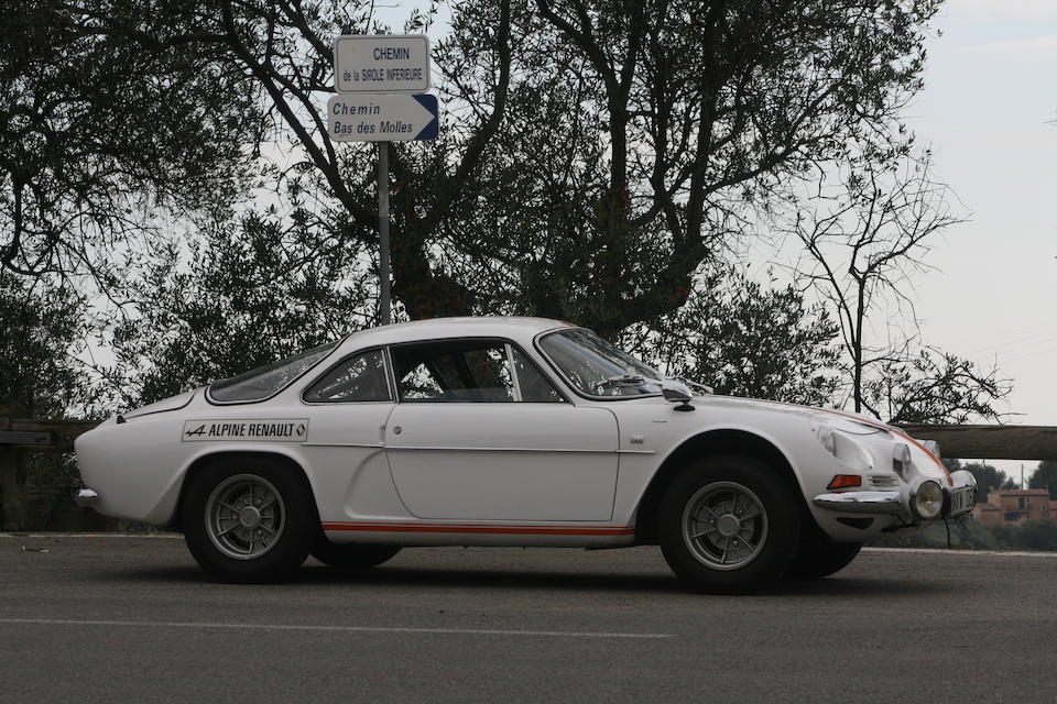 1974 Alpine A110 V85 1,300cc Coupé  Chassis no. A110 14525
