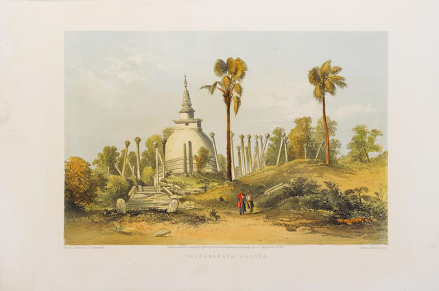 CEYLON O'BRIEN (C., Captain) A Series of Fifteen Views in Ceylon Illustrative of Sir J.E. Tennent's Work, from Sketches Made on the Spot