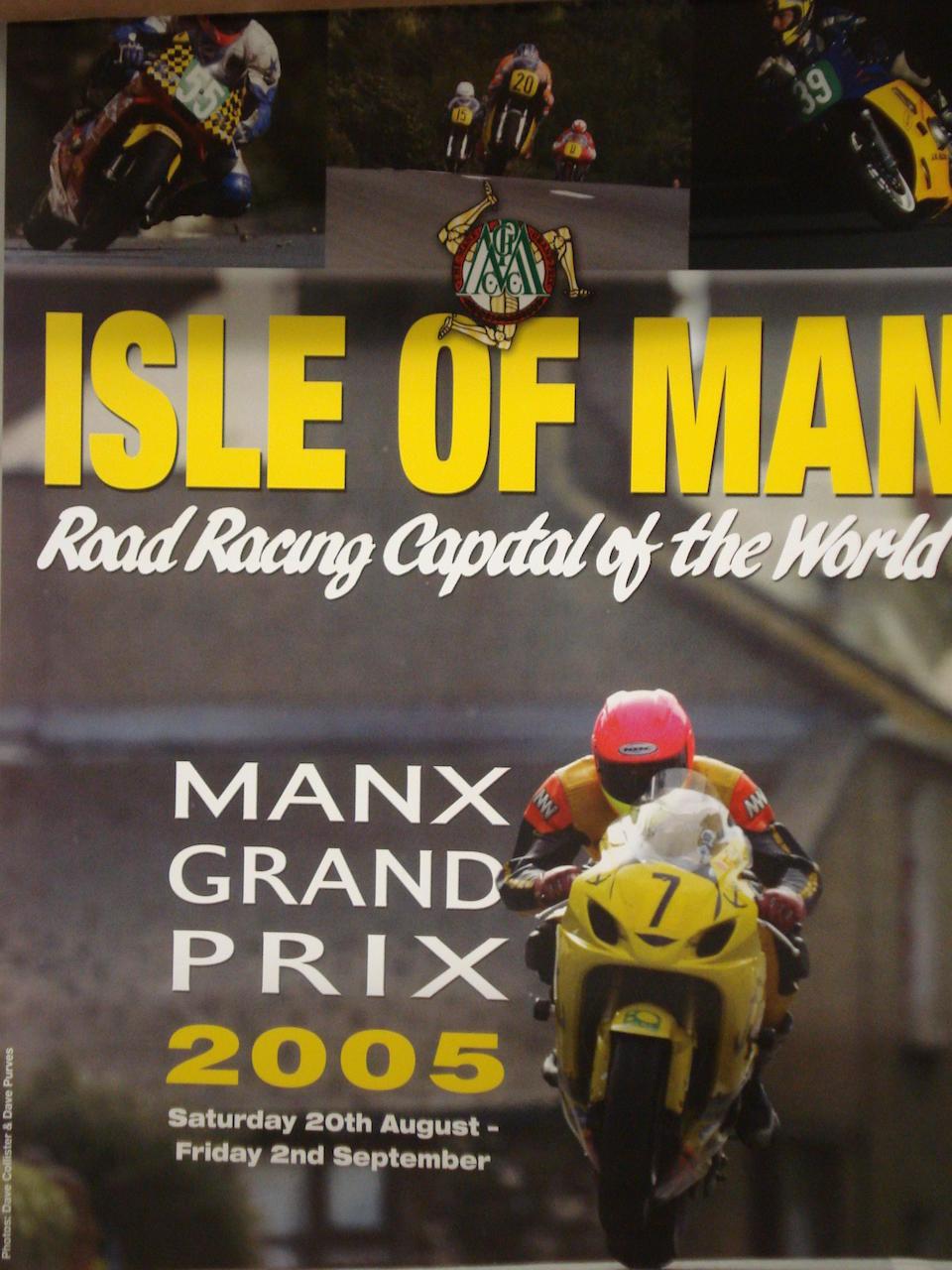 A selection of Isle of Man TT and Manx GP related ephemera,