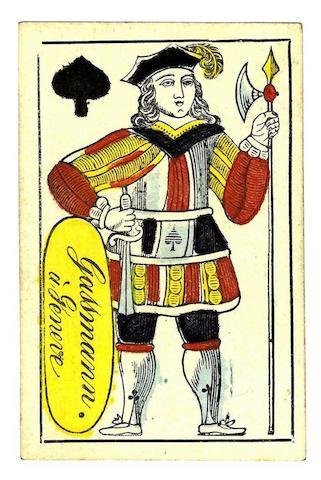 "A Swiss Dauphiné (Geneva) Pattern"" pack, by Gassmann of Geneva, circa 1830-40,"