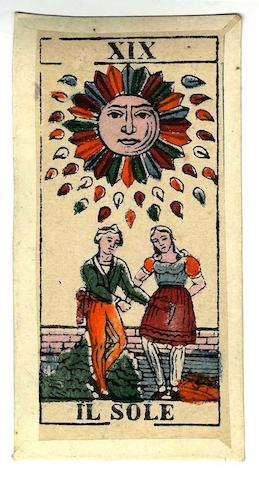 A Lombardy Tarot Pack, by R. Bardoni, Milan,