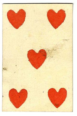 A French secondary use playing card, 1792,