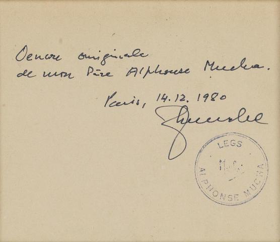 Alphonse Mucha (Czech, 1860-1939) Sarah Bernhardt