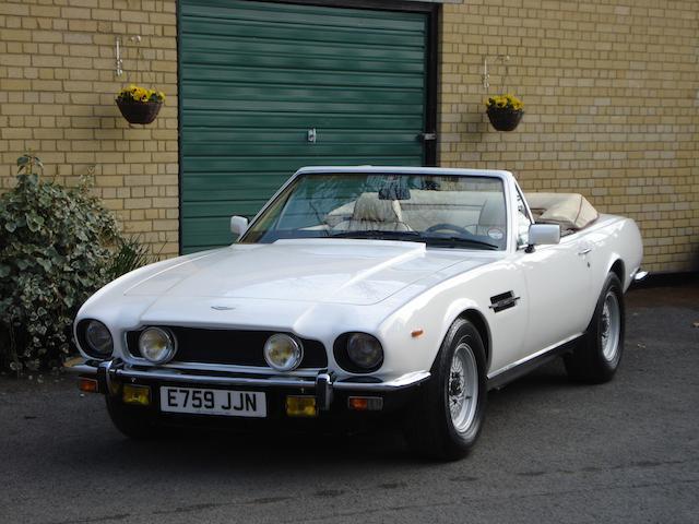 1987 Aston Martin V8 Volante Series 2 Convertible  Chassis no. SCFCV8108GTL15466 Engine no. V/584/5466