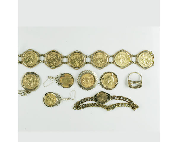 A quantity of jewellery (9)