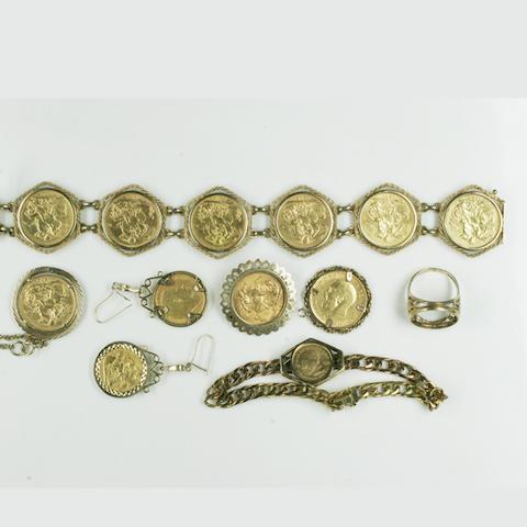 A quantity of jewellery (9)