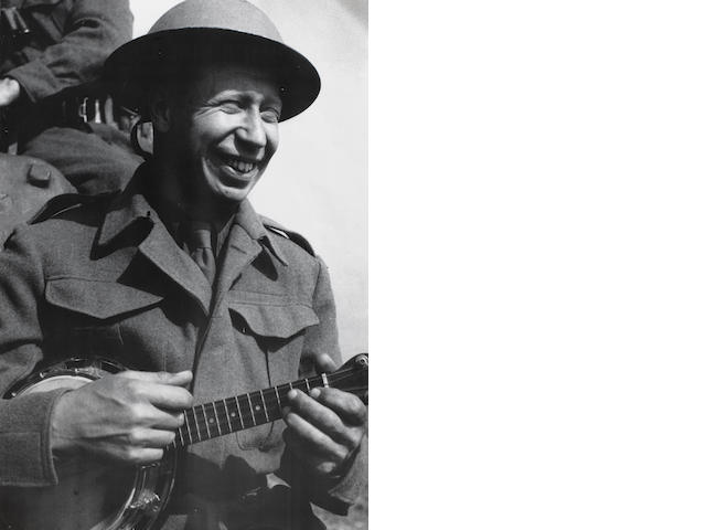 George Formby's Abbott 'Monarch' banjolele,