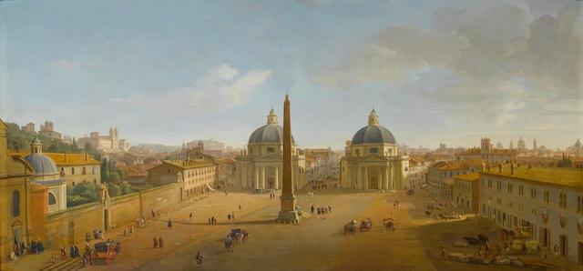 Gaspar van Wittel, called Vanvitelli (Utrecht circa 1653-1736 Rome) The Piazza del Popolo, Rome