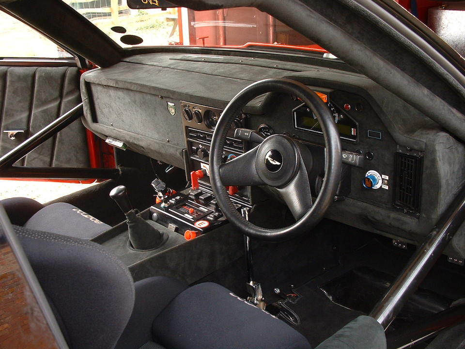 The Rowan Atkinson, Works Service prepared and first right-hand drive,1986 Aston Martin V8 Vantage Zagato Coupé  Chassis no. V8IZXGTR 20013 Engine no. V/580/0013/X(R)