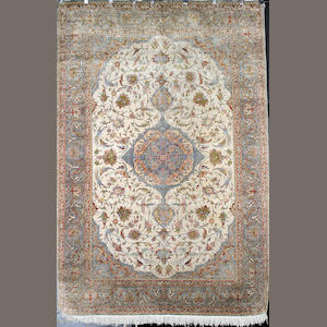 A Kayseri silk carpet West Anatolia, 306cm x 205cm