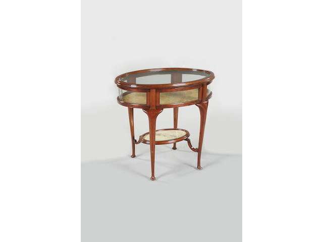 A 20th Century mahogany bijouterie table, circa 1920