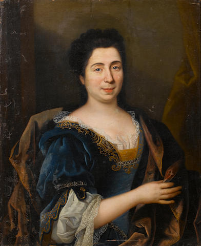 Circle of Hyacinthe Rigaud (Perpignan 1659-1743 Paris) Portrait of a lady,