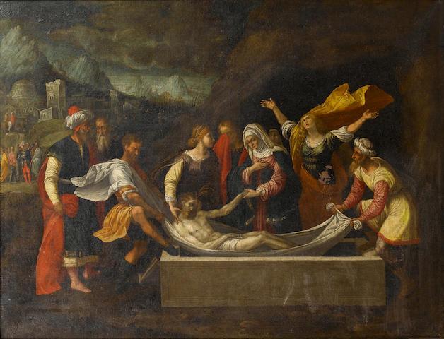 After Benvenuto Tisi da Garofalo, 16th Century The Entombment of Christ
