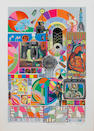 Sir Eduardo Paolozzi (British, 1924-2005) B.A.S.H. (Blue Grey) Screenprint, 1971, printed in colours