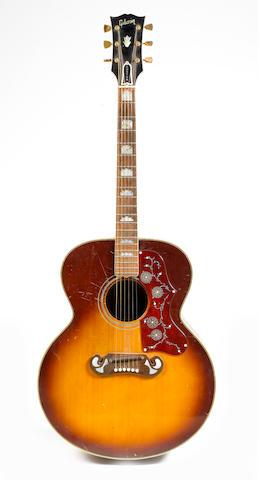 John Entwistle's Gibson J200 acoustic guitar,