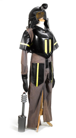 'Dr Who': a Dalek Guard costume,