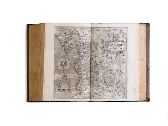 CAMDEN (WILLIAM) Britain, or a Chorographicall Description of the Most Flourishing Kingdomes, Englan