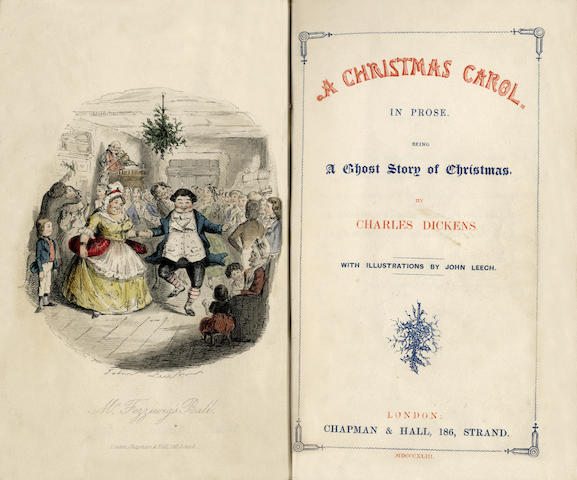 DICKENS (CHARLES) [Christmas Books], comprising: A Christmas Carol