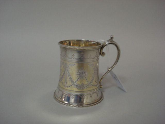 A Victorian mug W.E. maker mark, 1872,