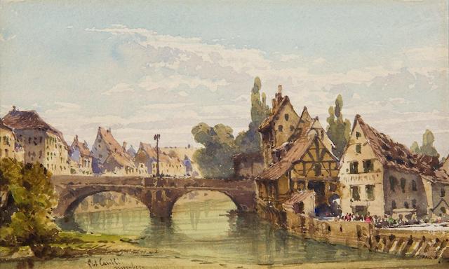 "Gabriel Carelli (Italian, 1821-1900) ""Nuremburg"""