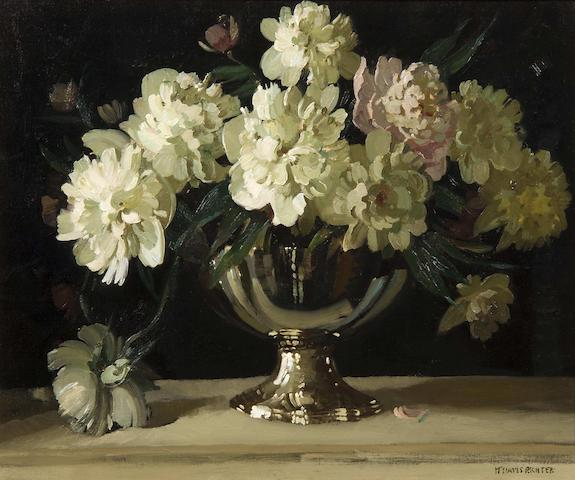 """Herbert Davis Richter (British, 1874-1955) """"Peony"""""""