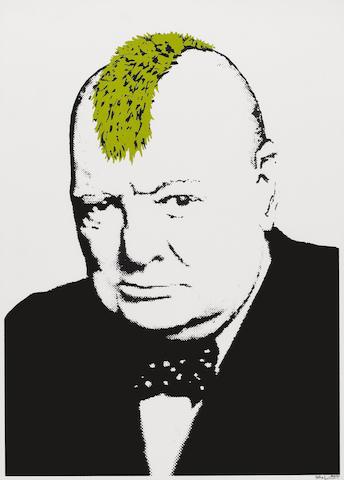Banksy (British, born 1975) 'Turf War', 2003