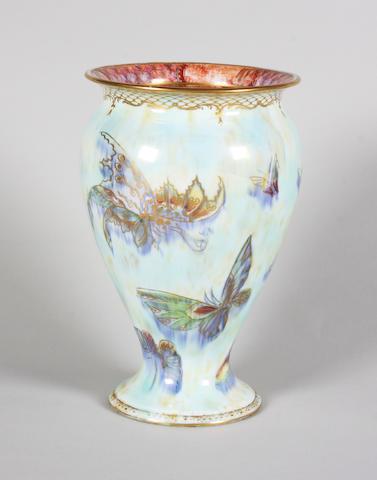 A Wedgwood lustre vase