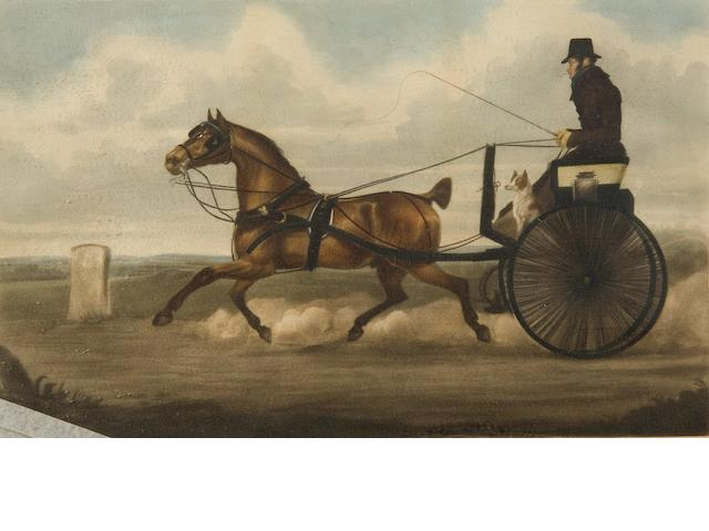 English School, (19th Century) The Road 1825; Commercial traveller