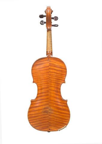 A French Violin by Salomon A Paris circa 1760